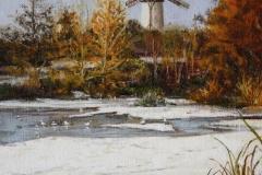 Frozen Pond Skerries Mills