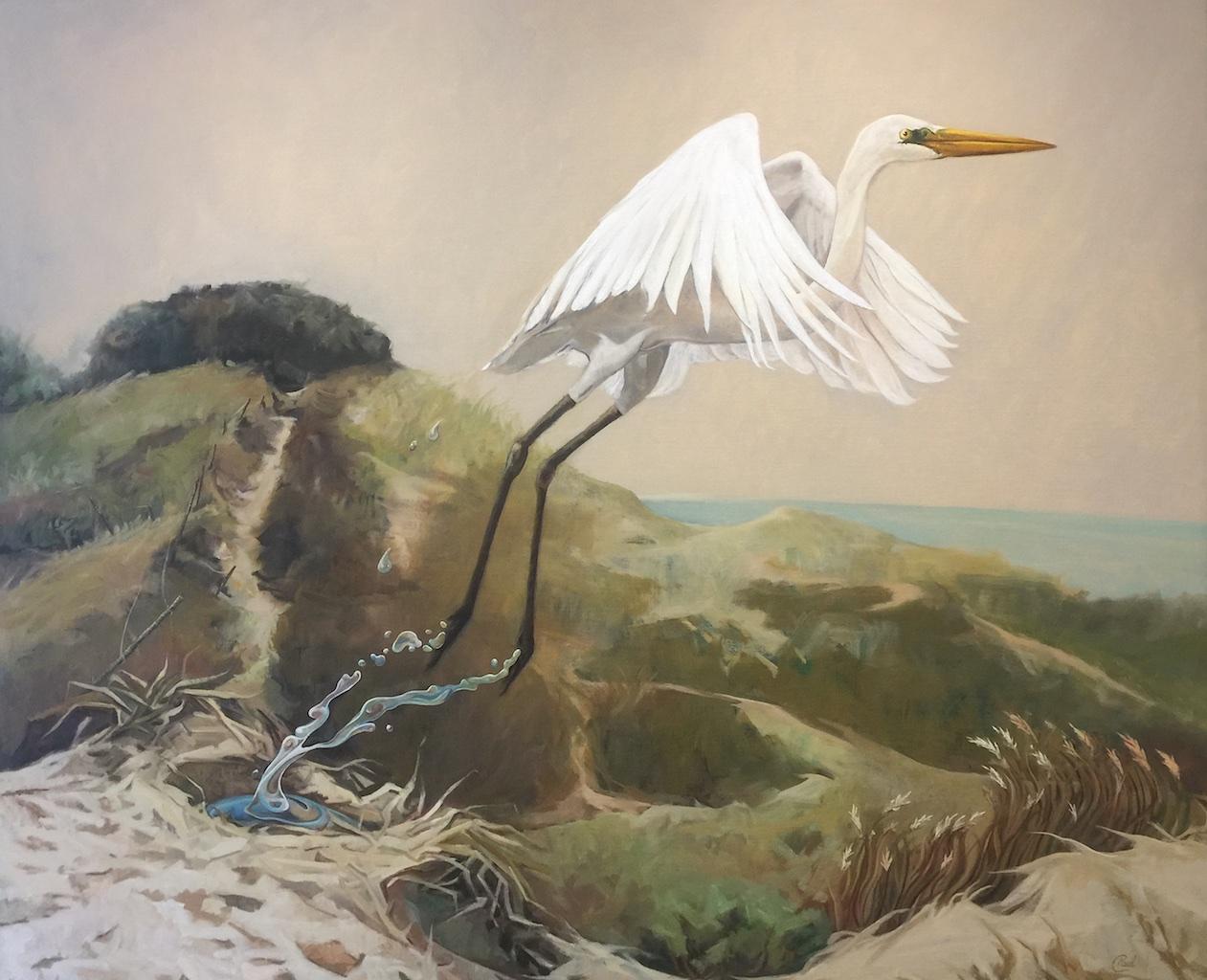 Artist-Paul-D'Arcy-Taking-Flight