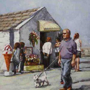 Walking the dog , Skerries