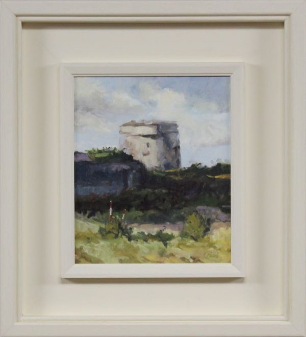 martello-tower-skerries-artist-Paul_DArcy